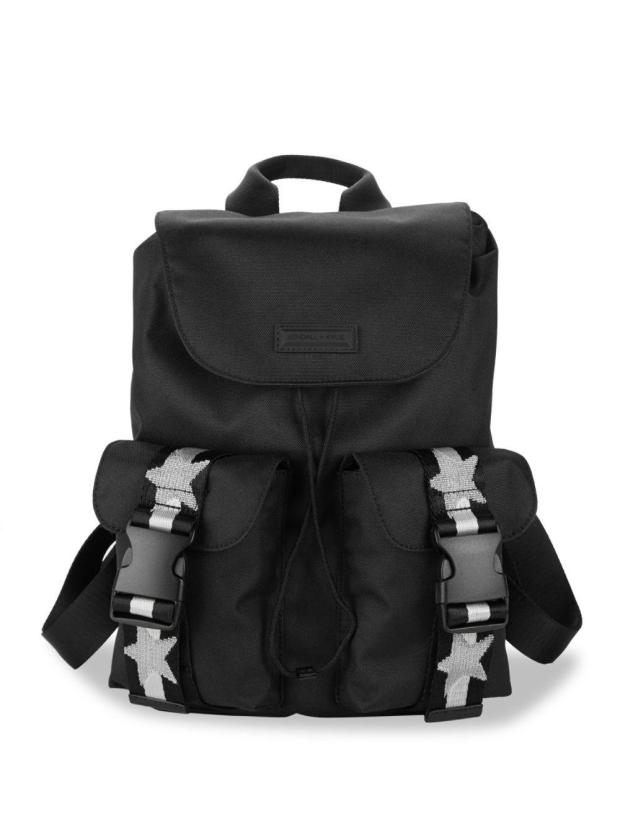 kendall-kylie-Black-Ashley-Backpack
