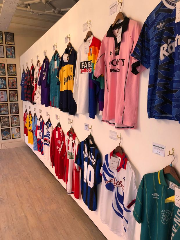 ecbfab4e2 As well as chronicling the journey of www.classicfootballshirts.co.uk the  store features football memorabilia