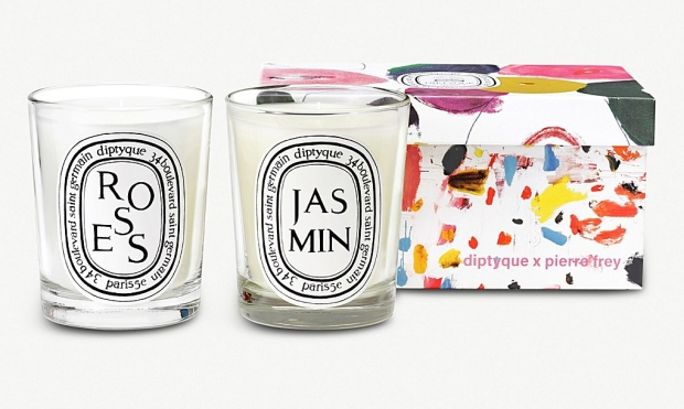 Diptyque Rose and Jasmine scented candle